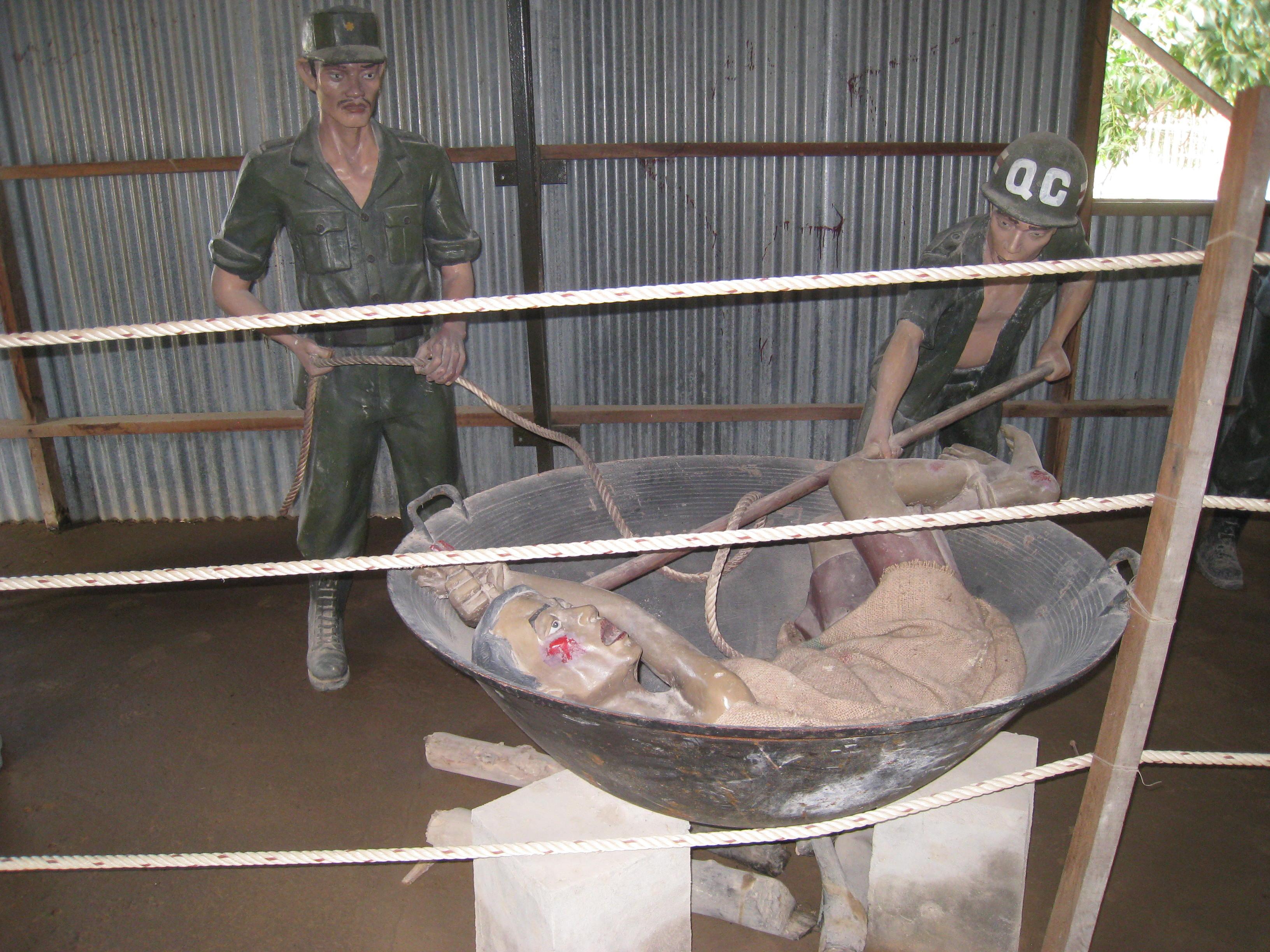 Hot iron for prisoner 8
