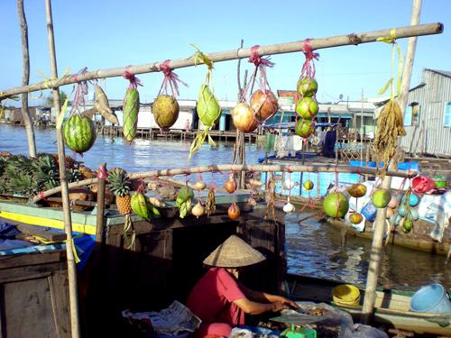 Cai rang floating market vietnam visa online