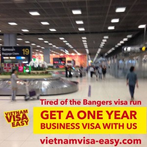 Business visa advertisement
