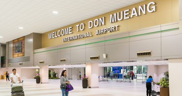 Don Mueang Airport Vietnam visa run to Bangkok