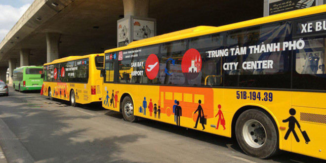 new airport bus link ho chi minh