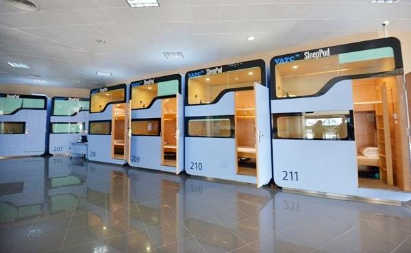 sleeping pods noi bai airport