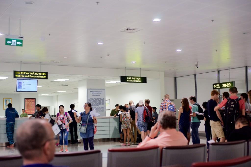Vietnam visa stamping fees from USD25