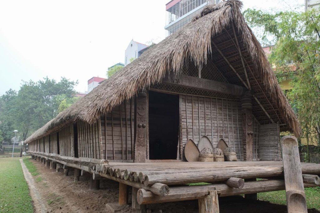 Long House at Hanoi Museum of Ethnology