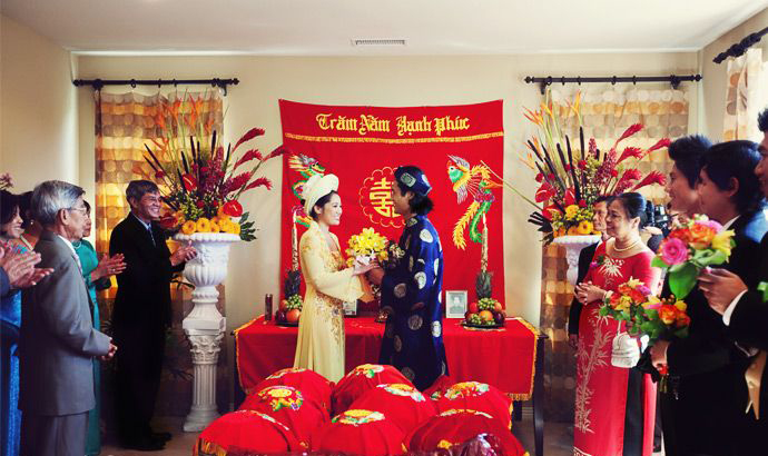 414406c7bc3 Traditional Vietnamese Wedding – Travel information for Vietnam from ...