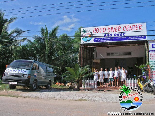 The center in Phu Quoc