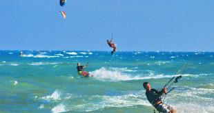 Kite-surfing-on-Mui-Ne-Beach