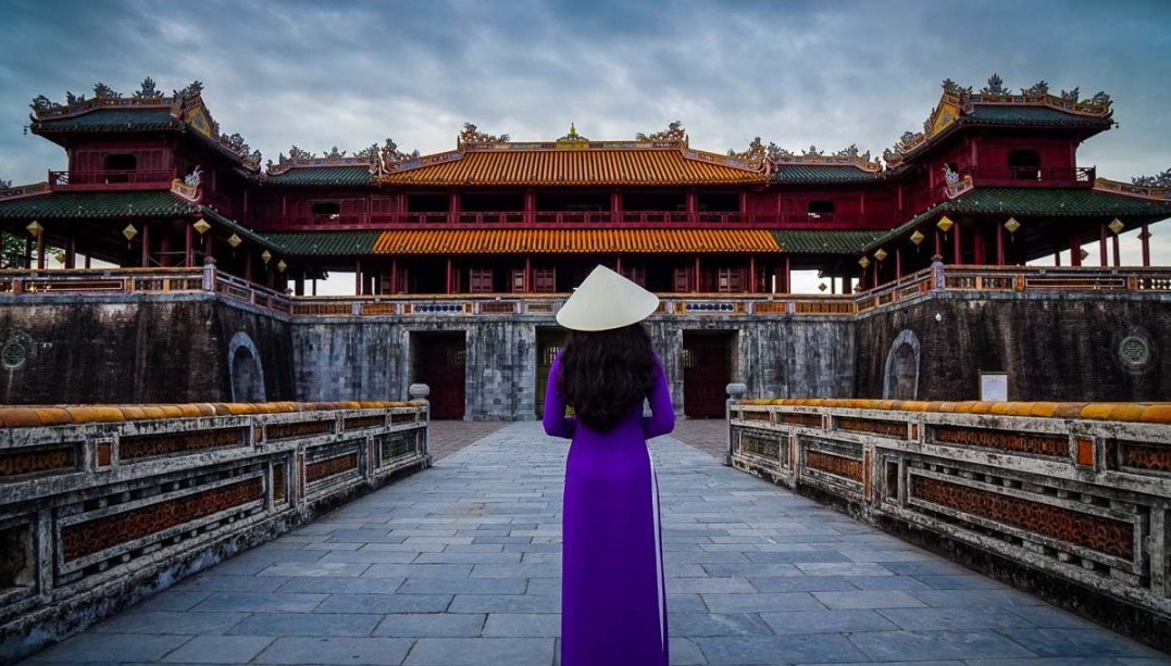 Imperial City of Hue with Aodai