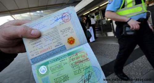 getting a visa to vietnam from country name