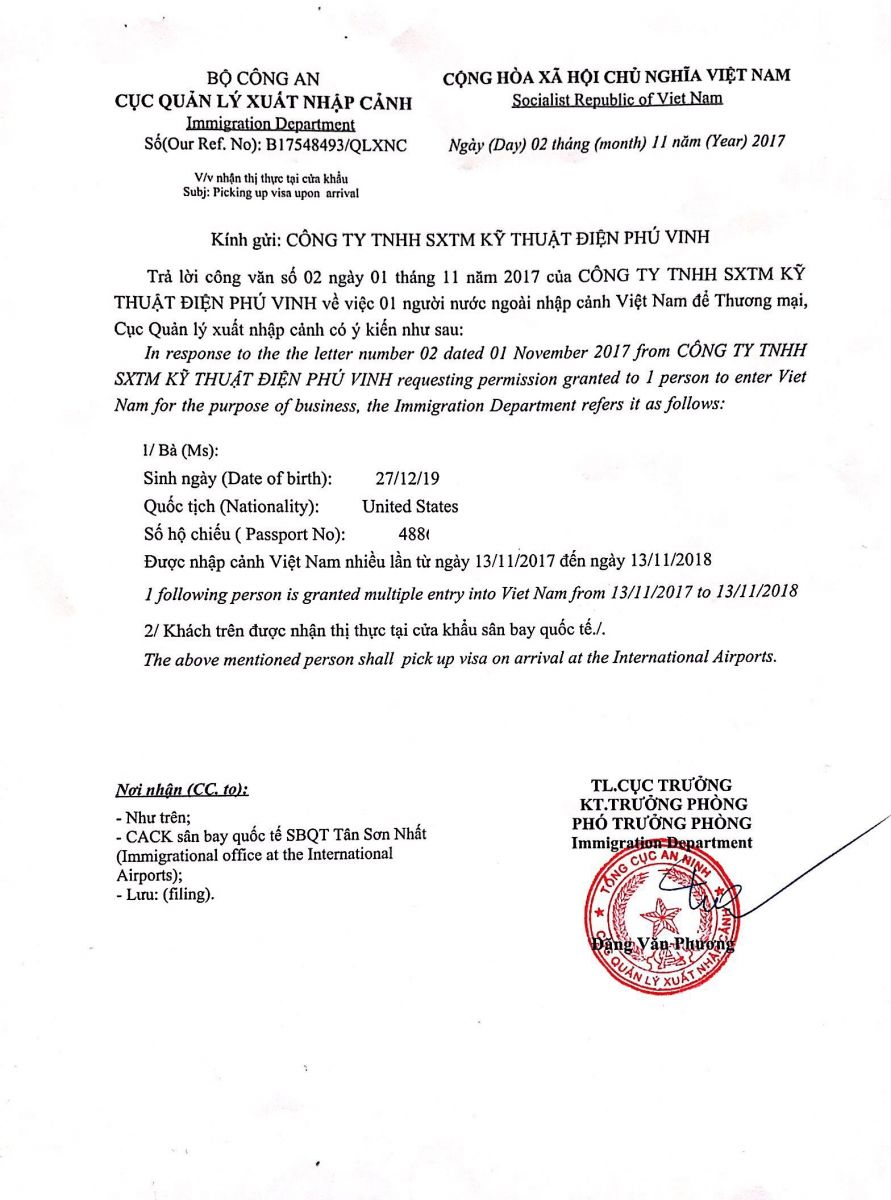 vietnam business visa approval for us citizens