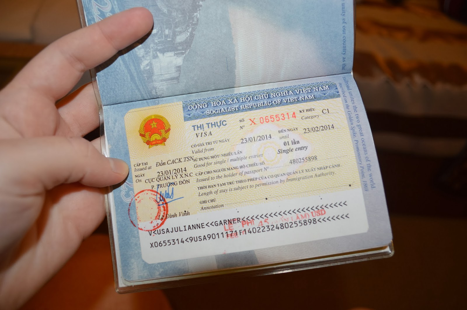 vietnam tourist visa extension 2014