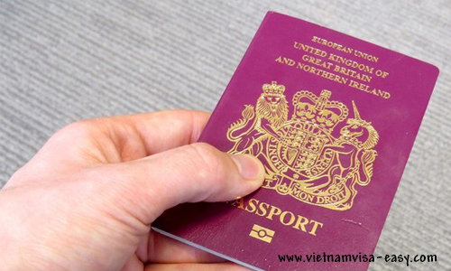 vietnam visa requirements for the british citizens